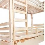 Mijn houten bed