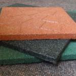 Eco rubber vloerafdekking